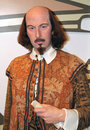 William Shakespeare at Madame Tussaud's Royalty Free Stock Photo