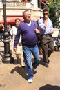 William shatner strolling around los angeles Royalty Free Stock Photo
