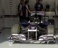 Williams F1 Royalty Free Stock Photo