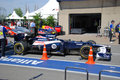 Williams Racing Car in 2012 F1 Canadian Grand Prix Royalty Free Stock Photos