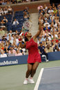 Williams Serena at US Open 2008 (5) Stock Photography