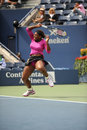 Williams Serena at US Open 2009 (162) Stock Image
