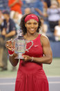 Williams Serena winner of US Open 2008 (8) Stock Images