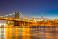 Williamsburg Bridge NYC Royalty Free Stock Photo