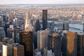 Williamsburg nyc as seen from the empire state building Stock Photography