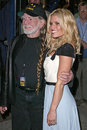 Willie Nelson, Jessica Simpson Stock Photos