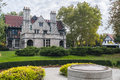 Willistead manor windsor ontario is a historic room mansion nestled within a acre park located in the former town of walkerville Stock Image