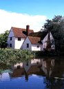 Willy Lotts Cottage, Flatford. Royalty Free Stock Photo