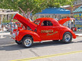 Willys Gasser Stock Image