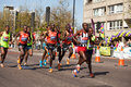 Wilson kipsang marathon group winner london kenyan Stock Photography