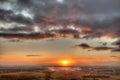 Wiltshire Sunrise Stock Images