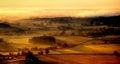 Wiltshire Sunrise Stock Image