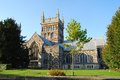 Wimborne minster church ancient in Royalty Free Stock Photos