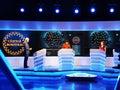 Win Romania - entertainment show on Romanian Television Royalty Free Stock Photo