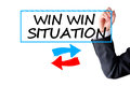 Win win situation Royalty Free Stock Photo