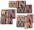 Win-win strategy or compromise Stock Photography