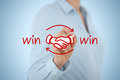 Win win strategy Royalty Free Stock Photo