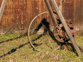 Winch At Erie Canal Royalty Free Stock Photography