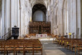 Winchester hampshire uk march interior view of winchester cathedral in on Stock Photography