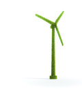 Wind energy concept Royalty Free Stock Photo