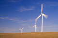 Wind Energy Farm Royalty Free Stock Photo
