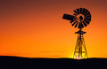 Wind energy windmill in the eyre peninsula south australia Stock Image