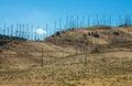 Wind Farm In The Desert