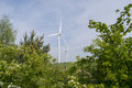 Wind Farm Turbines Royalty Free Stock Photo
