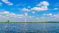 Wind Farm With Two And Three B...