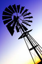 Wind pump Stock Image
