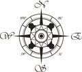 Wind rose Royalty Free Stock Photography