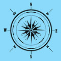 Wind rose compass.Vector illustration .Geography