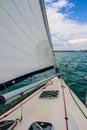 Wind Sailing Royalty Free Stock Photo