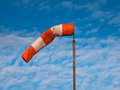 Wind Sock Blue Sky Stock Photos