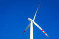 Wind turbine close up of Royalty Free Stock Images