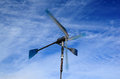 Wind turbine kit do it yourself for generatoring electricity Royalty Free Stock Image