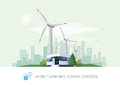 Wind Turbine Power Station