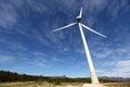 Wind turbines farm in spain Stock Photo