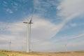 Wind turbines at the lambrigg windfarm near shap in cumbria Royalty Free Stock Photos