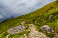 Winding Hiking Path Royalty Free Stock Photo