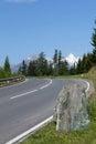 Winding mountain road Royalty Free Stock Image