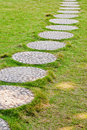 Winding path Royalty Free Stock Image