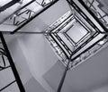 Winding Stairs Stock Photo