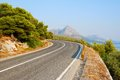 Winding Tarmac Road Stock Photos