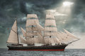 Windjammer Immagine Stock