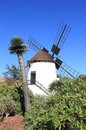 Windmill of antigua molino de antigua fuerteventura canary islands spain spanish meaning ancient is a canarian municipality in the Stock Photography