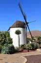 Windmill of antigua molino de antigua fuerteventura canary islands spain spanish meaning ancient is a canarian municipality in the Royalty Free Stock Photo