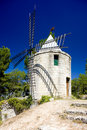 Windmill in Barbentane Royalty Free Stock Photo