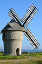 Windmill at Batz sur Mer in France Stock Photos