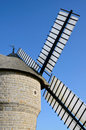 Windmill at Batz sur Mer in France Stock Image